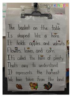 Classroom Thanksgivi