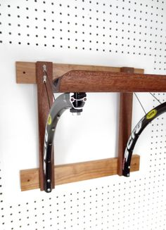 Wood+Bicycle+Rack++Bicycle+Accessories++by+Winterwomandesigns,+$124.00