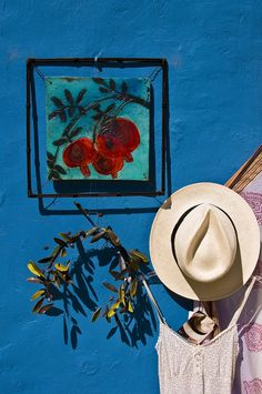 Shop in Fiscardo, Kefalonia island Greece Ithaca Greece, Santorini Greece, Beautiful Islands, Beautiful Places, Greece Islands, Where The Heart Is, Shades Of Blue, Color Schemes, Cool Photos