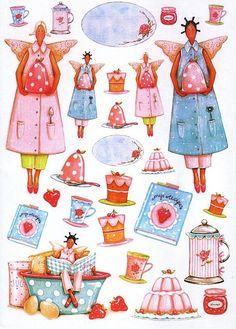 El mundo Tilda es muy bonito y colorido...romántico,dulce y especial...hacer los accesorios tilda,incluidas sus muñecas,es un verdadero plac...