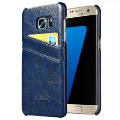 TOMKAS Leather Case For Samsung Galaxy S7/Galaxy S7 Edge