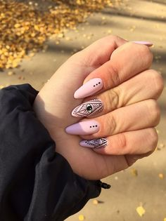 Evil Eye Nails Want to require your nails up a notch? do that fun looking nail art look on Pakistani monetary unit Cute Acrylic Nails, Acrylic Nail Designs, Hair And Nails, My Nails, Pedicure Nails, Evil Eye Nails, Witchy Nails, Natural Gel Nails, Mandala Nails