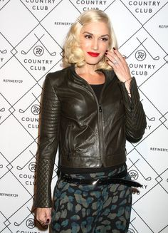 #HollabackGirl #GwenStefani in the Yellow Couture Band Ring and the Yellow Flower Bangle at the #Refinery29 Country Club Launch and the #2014USOpen