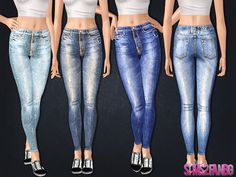 .:436 - High Skinny jeans:.  Found in TSR Category 'Sims 3 Female Clothing'