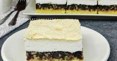 Máte chuť na lahodný, taký pravý domáci koláč, ktorý sa rozplýva na jazyku? Tak odporúčam tento, nebudete ľutovať. Šťavnatá makovo-... Vanilla Cake, Cheesecake, Desserts, Food, Basket, Tailgate Desserts, Deserts, Cheesecakes, Essen