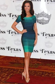 Miss Texas 2012 Interview Dress: HIT or MISS?