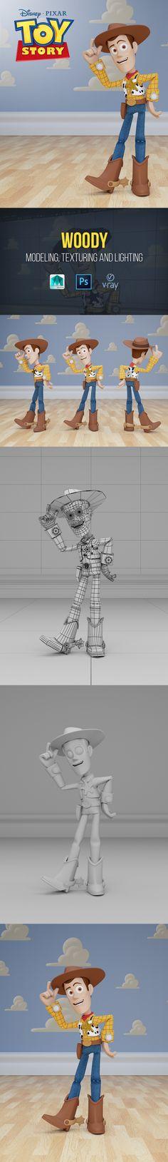 Woody Cartoon | Toy Story