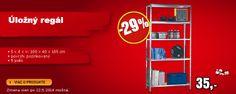 Úložný regál -29%