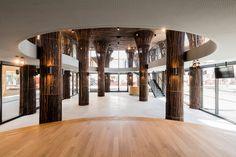 Vietnam Pavilion at Milan Expo 2015, bamboo clad columns