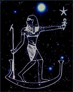 Sirius~~The ancient Egyptians saw Sirius as a giver of life for it always reappeared at the time of the annual flooding of the Nile. When the star sank in the west and disappeared from the night sky, it remained hidden for 70 days before emerging in the east in the morning. This was viewed as a time of death and rebirth.