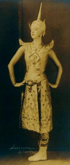 ruth st denis as thai dancer