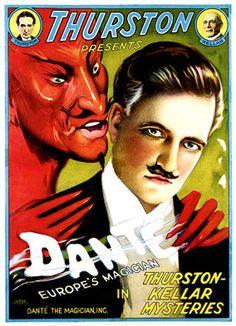 Thurston Presents... Dante, Europe's Magician #Magic #magician #Illusion