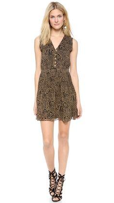 Diane von Furstenberg Zaeta Printed Sleeveless Dress