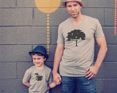 Vader zoon Shirts Dad dochter T Shirts Dad tshirt door MumsyGoose