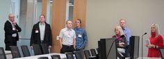 David Eccles School of Business alumni take a tour of Adobe in Lehi