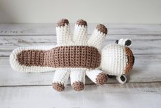 Appa (the last Sky Bison) is a much loved character from Avatar: the Last Airbender. I've put together a free crochet Appa pattern and photo tutorial with all the steps you need to crochet your own Appa. Crochet Gifts, Crochet Yarn, Crochet Toys, Crochet Stitches, Free Crochet, Mandala Crochet, Crochet Afghans, Crochet Blankets, Chrochet