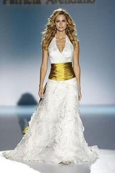 vestidos de novia sencillos color perla cortos - Buscar con Google