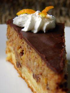 Čoko narančasta torta
