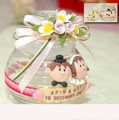 wedding souvenir inspiration - jar