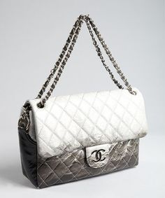 84ea1d4c16eb Chanel   grey matelasse patent leather chain strap vintage shoulder bag  Chanel Purse