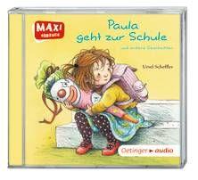 Paula geht zur Schule und andere Geschichten (CD). Ab 3 Jahren.