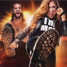 Seth Rollins & Becky Lynch are ready for WWE Stomping Grounds PPV Wrestling Superstars, Wrestling Divas, Rousey Wwe, Becky Wwe, Wwe Seth Rollins, Wwe Couples, Wwe Pictures, Catch, The Shield Wwe