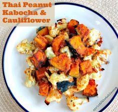 Thai Peanut Kabocha and Cauliflower #strangebutgood #vegan