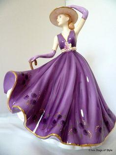 ROYAL DOULTON Pretty Ladies EMMA Bone China Figurine of the Year 201