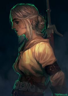 Ciri, Lion Cub of Cintra, Benjamin Ee on ArtStation at https://www.artstation.com/artwork/ciri-lion-cub-of-cintra