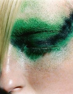 CHAMELEON VISUAL LTD #greeny #green #makeup
