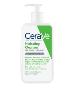 Cream: CeraVe Hydrating Cleanser | The frigid temperatures outside combined with the hot air inside can leave your skin feeling parched. To help keep moisture in, swap your regular cleanser for one of these gentle, hydrating formulas.