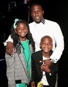 Kevin Hart & family