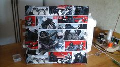 Hand-made comic book THE WALKING DEAD lady by MawmaRosesCrafts