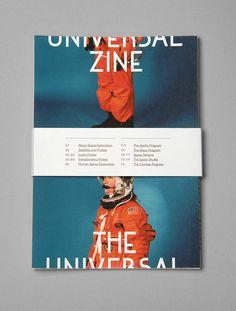 The Universal Zine  - split layout