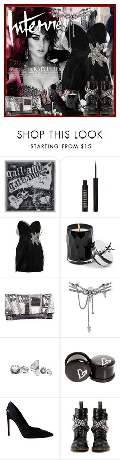 """""""KATY PERRY (Interview Magazine March 2012)"""" by kathylina ❤ liked on Polyvore featuring Galliano, Made of Me, Lord & Berry, Foley + Corinna, Votivo, Shared Earth, Peter Lang, Gianvito Rossi and Dr. Martens"""