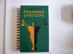 Presumed Innocent book #journal @ www.barbaragracellc.com