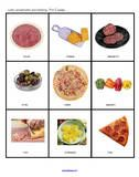 Pizza memory game. Some pictures to color and more