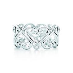 Tiffany and Co. twisted bow ring.