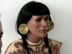 The reconstructed face of a high ruling Peruvian priestess