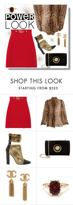 """""""Feeling powerful"""" by krista-zou on Polyvore featuring Gucci, Dolce&Gabbana, Balmain, Versus and Other"""