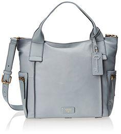 Fossil Emerson Top Handle Bag, Smokey Blue