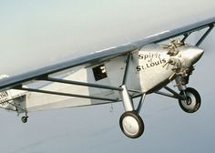 The EAA Young Eagles program takes you from a free introductory flight for youth into the world of aviation. Start your aviation flight plan today! Charles Lindbergh, Civil Aviation, Aviation Art, St Louis, New York To Paris, Come Fly With Me, Ww2 Aircraft, Historical Pictures, Zeppelin