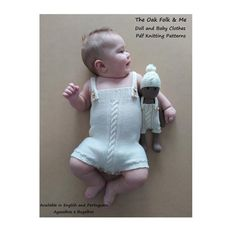 PDF Knitting Pattern The Piece of Cake Baby Romper and Hat | Etsy