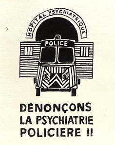 Denunciemos la política criminal de la policía, Mayo del 68.