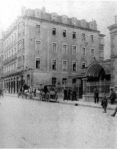 Estación de tren. El Vasco principios del siglo xx