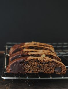A crispy, crunchy Chocolate Biscotti is a delicious twice-baked Italian style cookie best served with a cup of coffee.