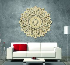 Stencil, Mandala, Home Decor, Homemade Home Decor, Mandalas, Decoration Home, Coloring Pages Mandala, Interior Decorating