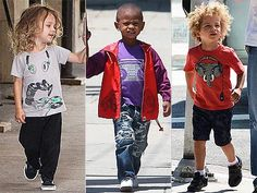 Mini music men! Everyone from Otis Maguire  and Usher V to Jaid Nilon  have been channeling their inner beat while out and about in cute graphic music tees.