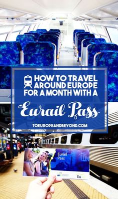 So you've decided to visit Europe this summer, and you're still undecided about getting a Eurail pass. Is it worth the price? How exactly does it work? Find out there. http://toeuropeandbeyond.com/how-to-travel-around-europe-for-a-month-with-a-eurail-pass/ #trains #Europe #travel