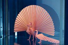 Akira Yoshiwaza's amazing origami art. Stunning!!!
